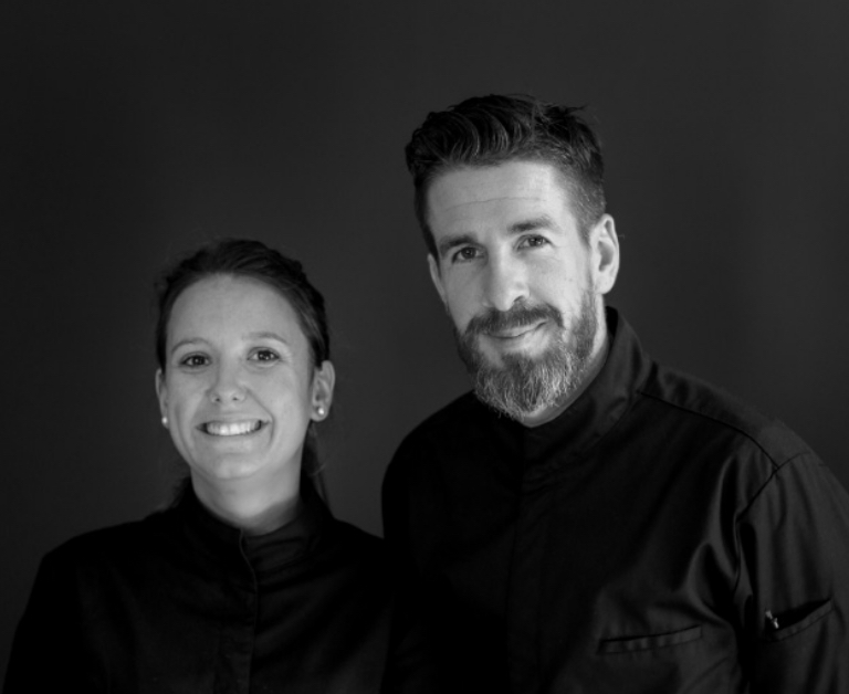 Photo de Julien et Océane, les deux narrateurs du Restaurant SEPT